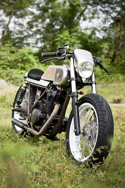 Kawasaki KZ200 12th Attempt - via Return of the Cafe Racers