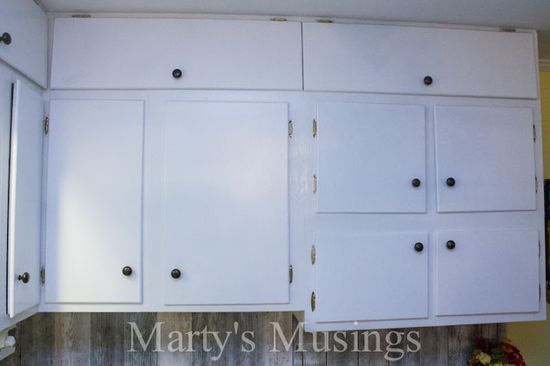 How tp Paint Kitchen Cabinets from Marty's Musings