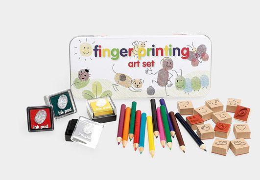 Fingerprinting Art Set, $11