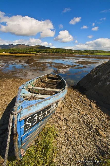 Boat in Cork,Ireland