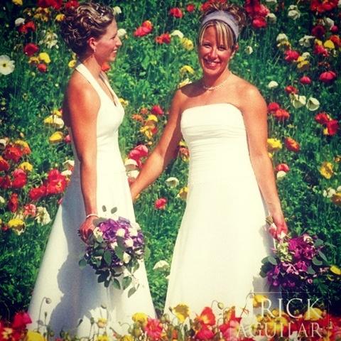 Beautiful gay wedding