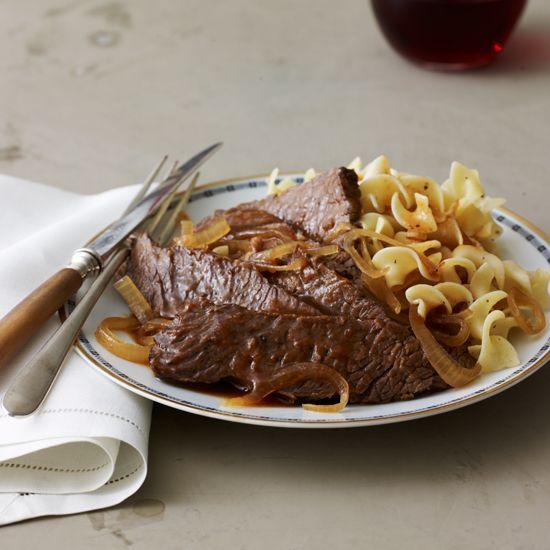 Slow Cooker Sweet-and-Sour Brisket // More Slow Cooker Recipes: www.foodandwine.c... #foodandwine
