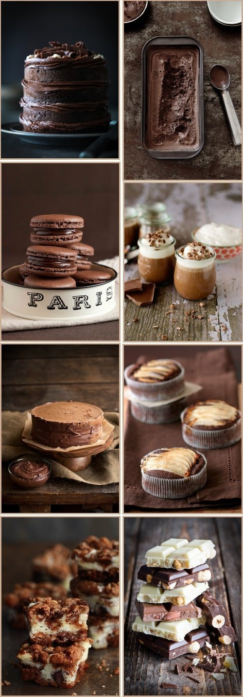 chocolate food photography