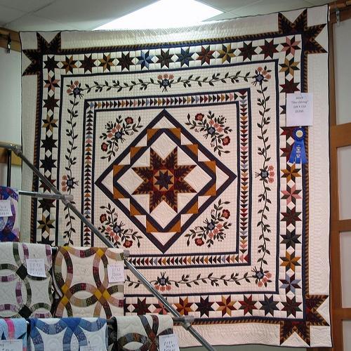 """Star Gazing"" Handmade Quilt"