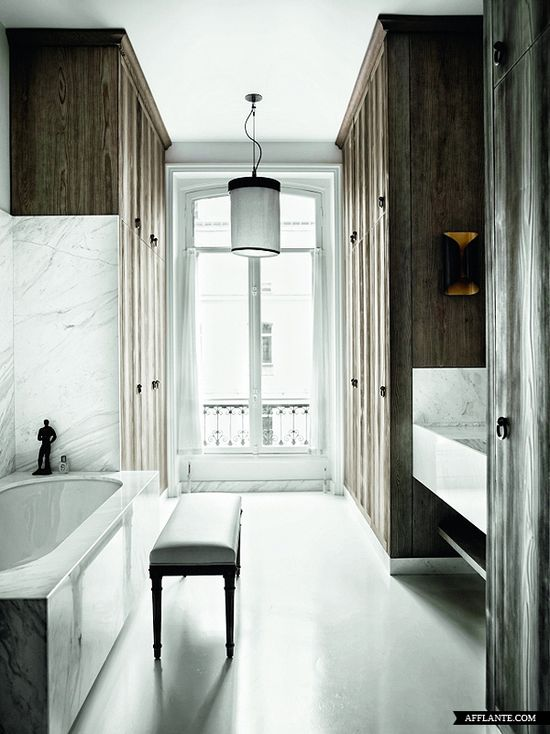 interior, Parisian apartment