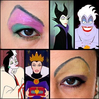 Disney Villain-Inspired Eye Makeup