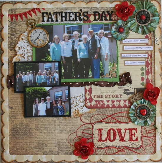 Father's Day Love - Scrapbook.com