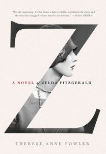 "APRIL•Besides the classic black-and-white photo, this is a strikingly simple and thoughtful design: Zelda Fitzgerald's profile protrudes out of the titular ""Z,"" and ""of"" conforms to the contour of the letter. It also executed the principle of closure that leaves audiences to imagine the rest of the woman's profile and become interested in the novel in the book."
