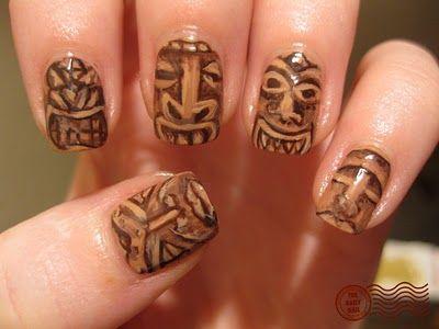 tikiroom nail art