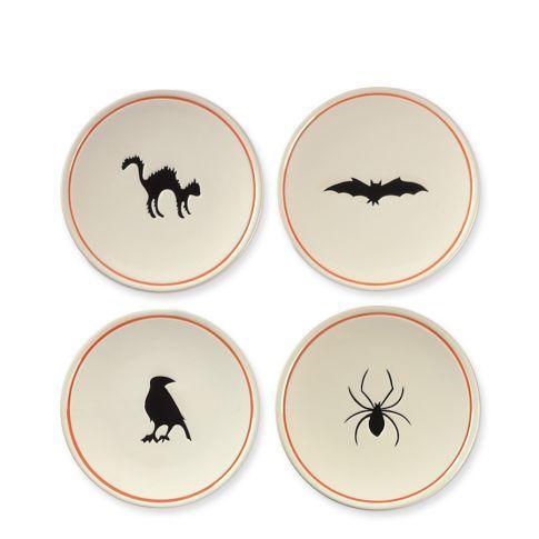 cute halloween plates