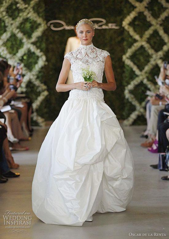 oscar de la renta wedding dresses spring 2013