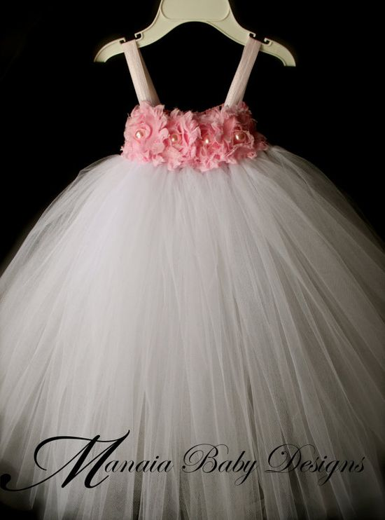 Flower Girl Tutu Dress / Pink Tutu Dress