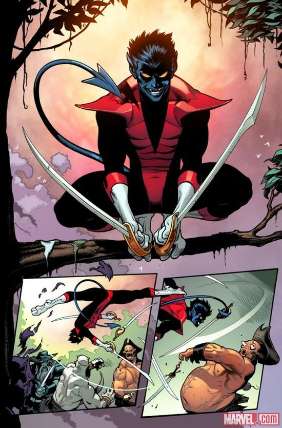 Preview Amazing X-Men #1 by Jason Aaron and Ed McGuinness! What's your all-time favorite Nightcrawler moment? marvel.com/...