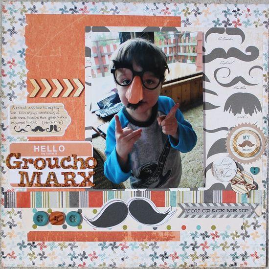 Groucho Marx Nephew - Scrapbook.com