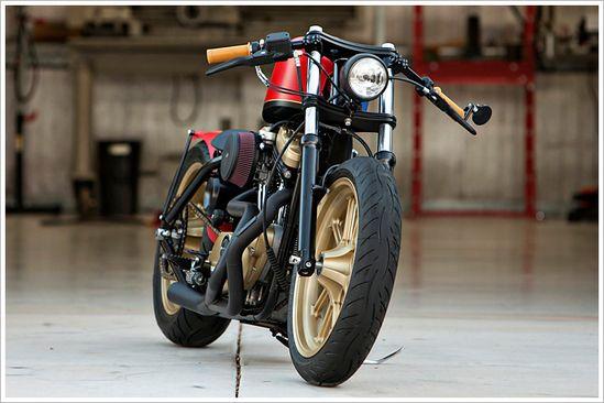 '03 Harley Sportster - DPCustoms - Pipeburn - Purveyors of Classic Motorcycles, Cafe Racers & Custom motorbikes