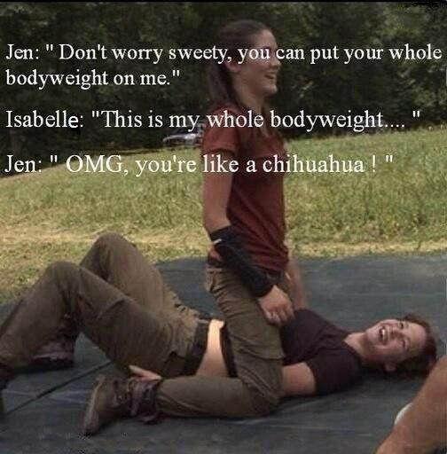 Hahaha she funny!!