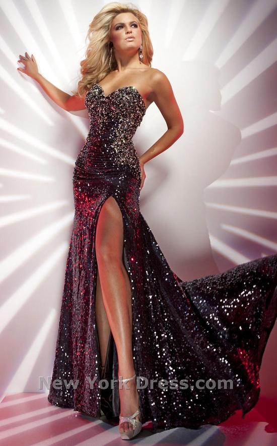 Evening Gown Idea - WBFF Diva Bikini Model Competition
