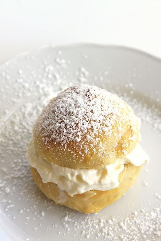 Cardamon cream puffs