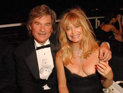Kurt Russell and Goldie Hawn - together since 88