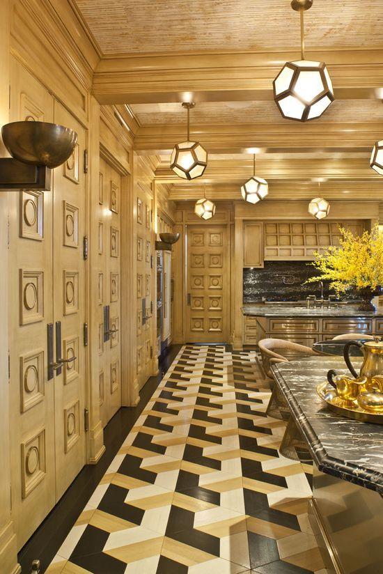 Kelly Wearstler #floor design #floor decorating #floor designs #floor design ideas #floor design
