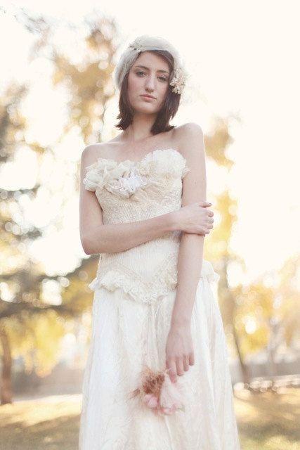 The Rebellion and Decorum Wedding Gown by ArmoursansAnguish, $375.00