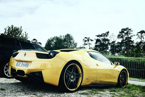 #car #sports #sports car #yellow