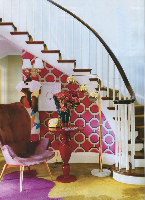 stairway wallpaper