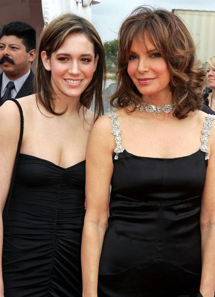 Jaclyn Smith and her daughter.