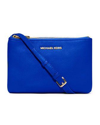MICHAEL Michael Kors  Bedford Gusset Crossbody Bag.