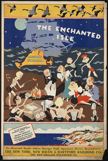 The enchanted isle - Martha's Vineyard by Boston Public Library, via Flickr