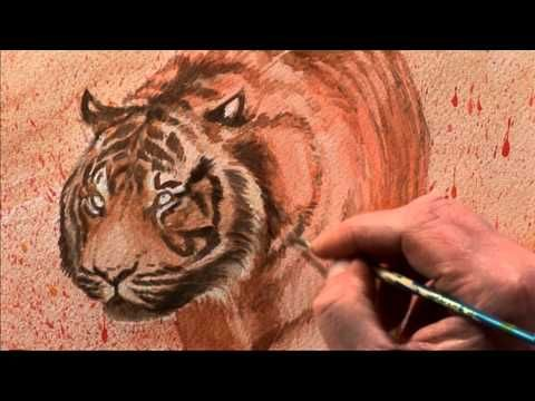 Drawing & Painting Wild Animals with Vic Bearcroft One - Part Two