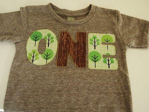 Forest theme Woodland Birthday Shirt Boys by lilthreadzclothing, $26.00