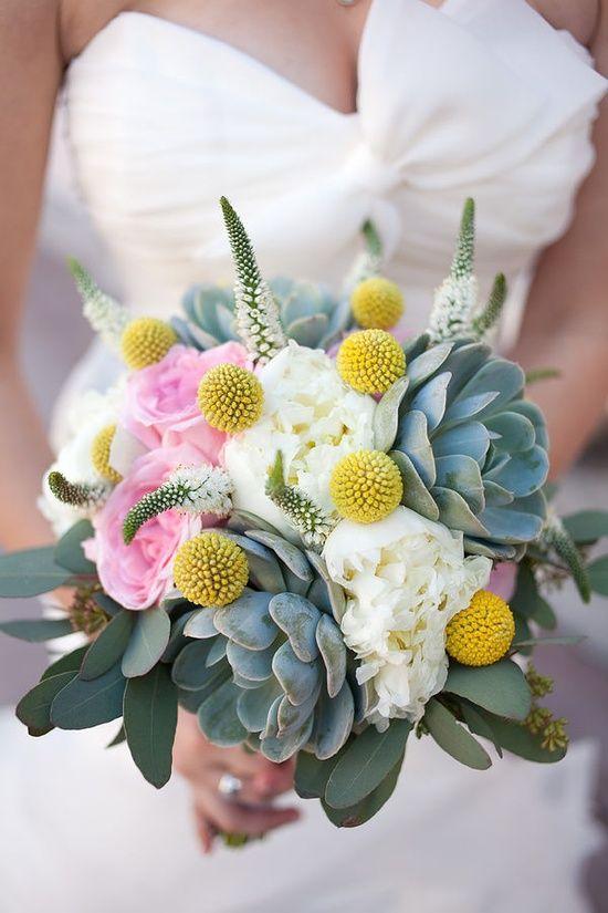 Succulent bouquet- purple instead of #Romantic Life Style
