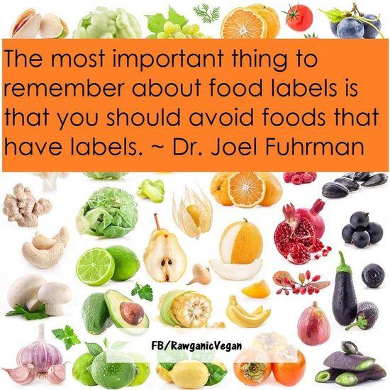 Healthy food tip