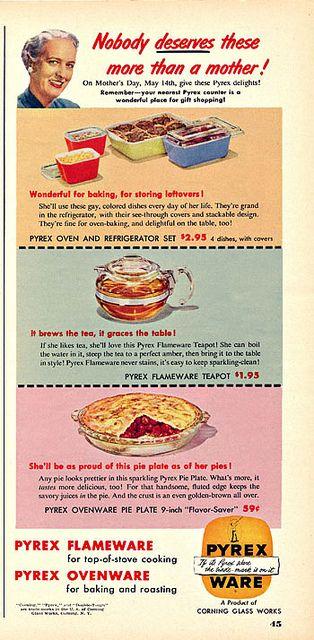 1950s Pyrex ad