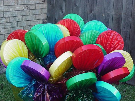 Lollipop Yard Decorations for Christmas, Birthday, or Candy Themed Parties - A Must For Candyland or Willie Wonka Parties on Etsy, $7.00