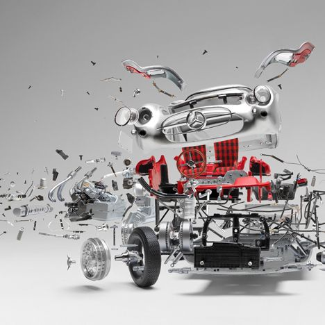 Detailed Photographs Capture Exploded Sports Activities Automobiles - www.iondecoration...