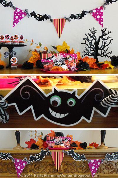 Batty Halloween Banner