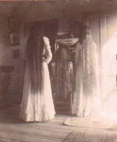 long hair victorian beauties