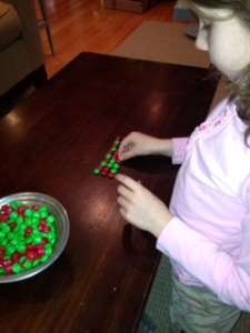 Learning with Christmas Candy