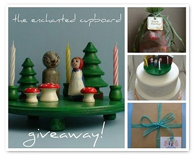 woodland cake topper giveaway from the enchanted cupboard!...