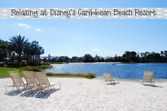 Relaxing at Disneys Caribbean Beach Resort