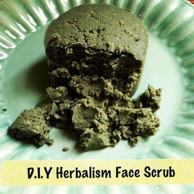 Fresh Picked Beauty: D.I.Y Herbalism Face Scrub.