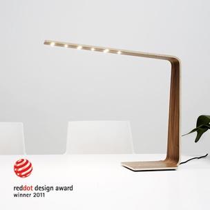 Cool desk lamp in Oak