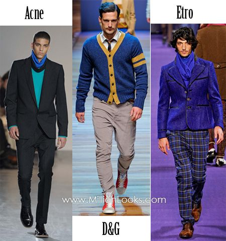 Men Fashion Trends Fall/Winter 2012