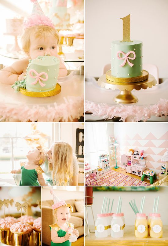 Adorable birthday party design