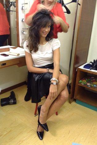 #CaterinaBalivo #Stefanel #Feelmore #totallook #celebrities wearing #Stefanel