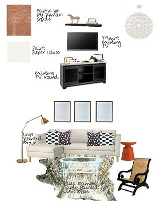 living room design boards - Google Search