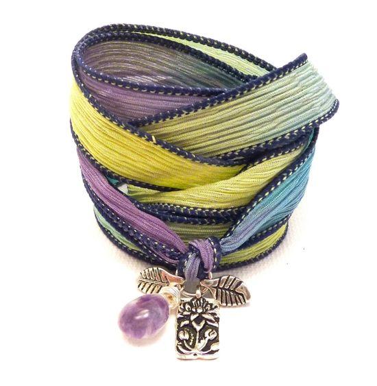 modern handmade charm bracelets by Lori Cohn of Charmed Design