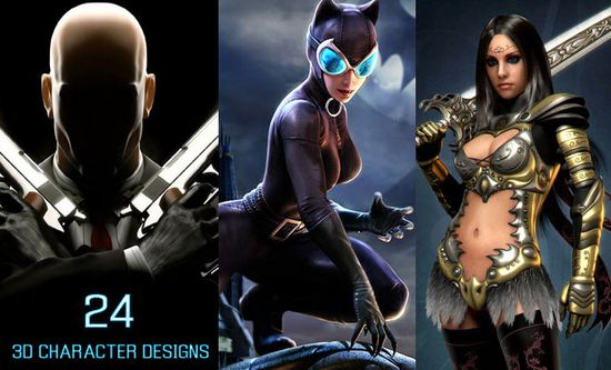 24 Beautiful 3D Character Designs and Illustrations for your inspiration